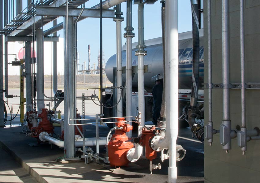 Ethanol Storage, Injection, and Loading